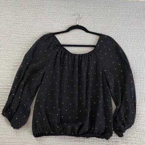 Dressy Long-Sleeved Blouse